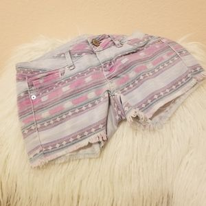 American Eagle Jean Patterned Shorts